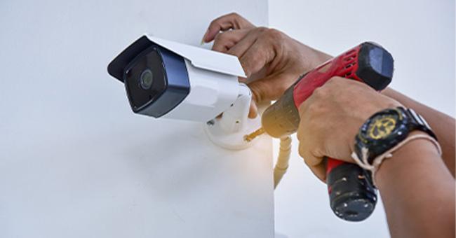 Installation vidéo-surveillance près de Saint-Quentin