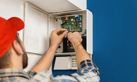 Installation de système de sécurité - alarme professionnels et particuliers près de Saint-Quentin