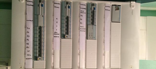 Tableau électrique - Électricité générale pour particuliers